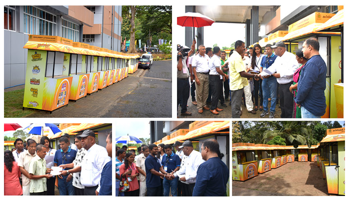 DLB distributes new sales outlets at Gamperaliya programme