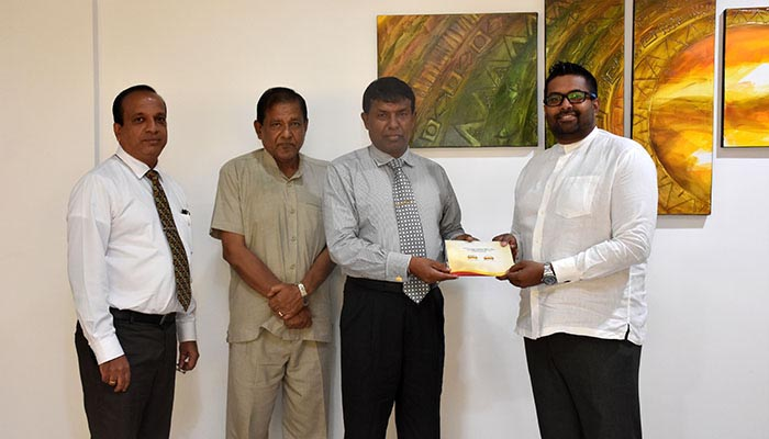 Sponsorship from DLB to Ruhunu Katharagama Maha Perahera