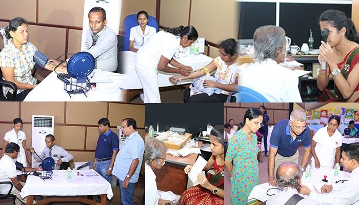 Medical Camp for the benefit of the Sales Agents and Sales Assistants of DLB