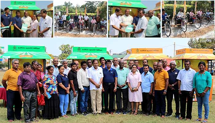 Another phase of distribution o Sales Outlets and Tricycles at Matara and Beliaththa
