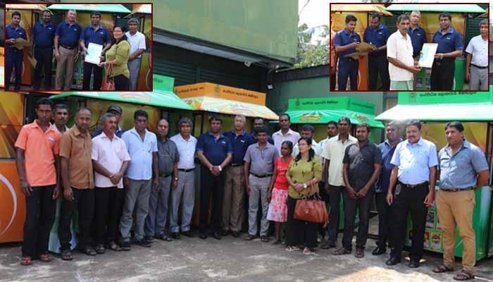 New Sales outlets to District Sales Agents
