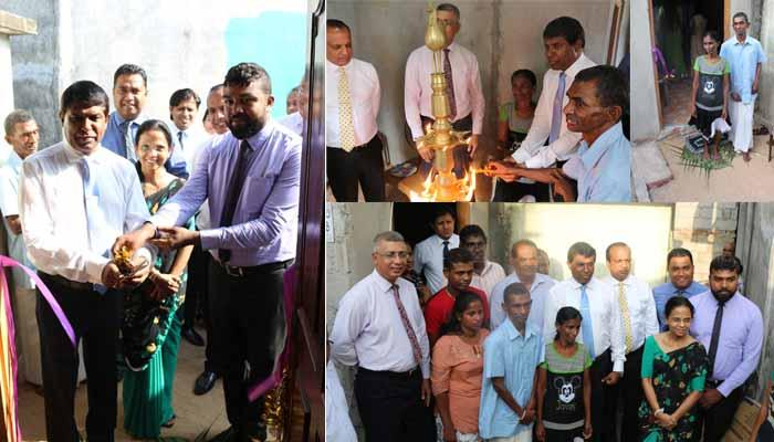 A house from Soft Heart Foundation to the family of Sales Assistant at Moratuwa