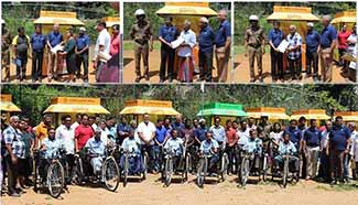 Development Lotteries Board distributes New Sales Outlets to District Sales Agents of Kandy