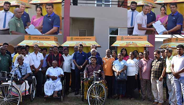 Development Lotteries Board completes another phase of the programme for distribution of Sales Outlets and Tricycles at Kalutara