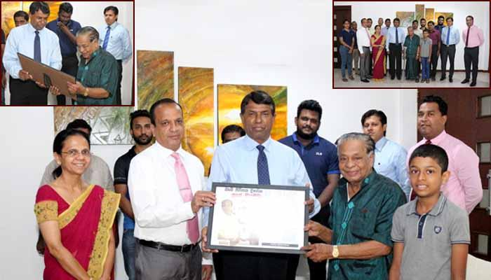 DLB appreciates the service of Mr. N.G.Sirisena, one of the senior Sales Agent of DLB