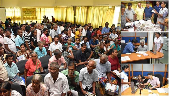Medical Camp for the benefit of Sales Agents and Sales Assistants of Galle District
