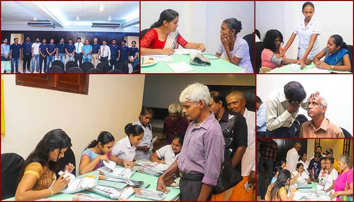 Health Camp at Gampaha district comes to the end successfully