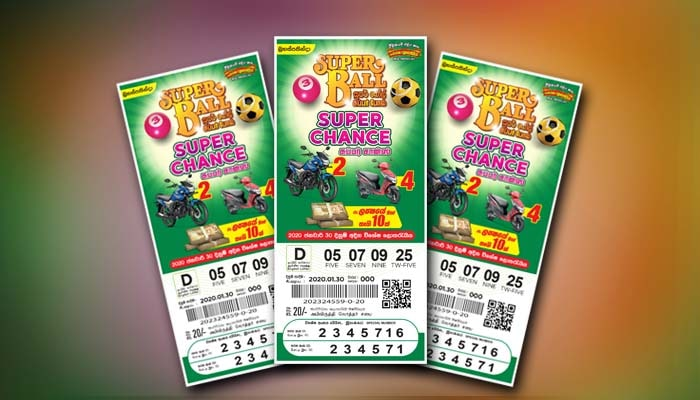 "Draw of the special lottery of Super Ball ""Super Chance"" on 30th January"