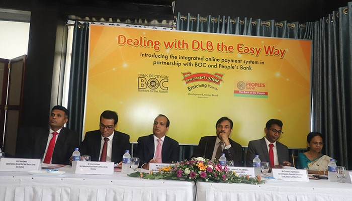 Development Lotteries Board enters in the network with Bank of Ceylon and Peoples Bank for enhancing efficiency